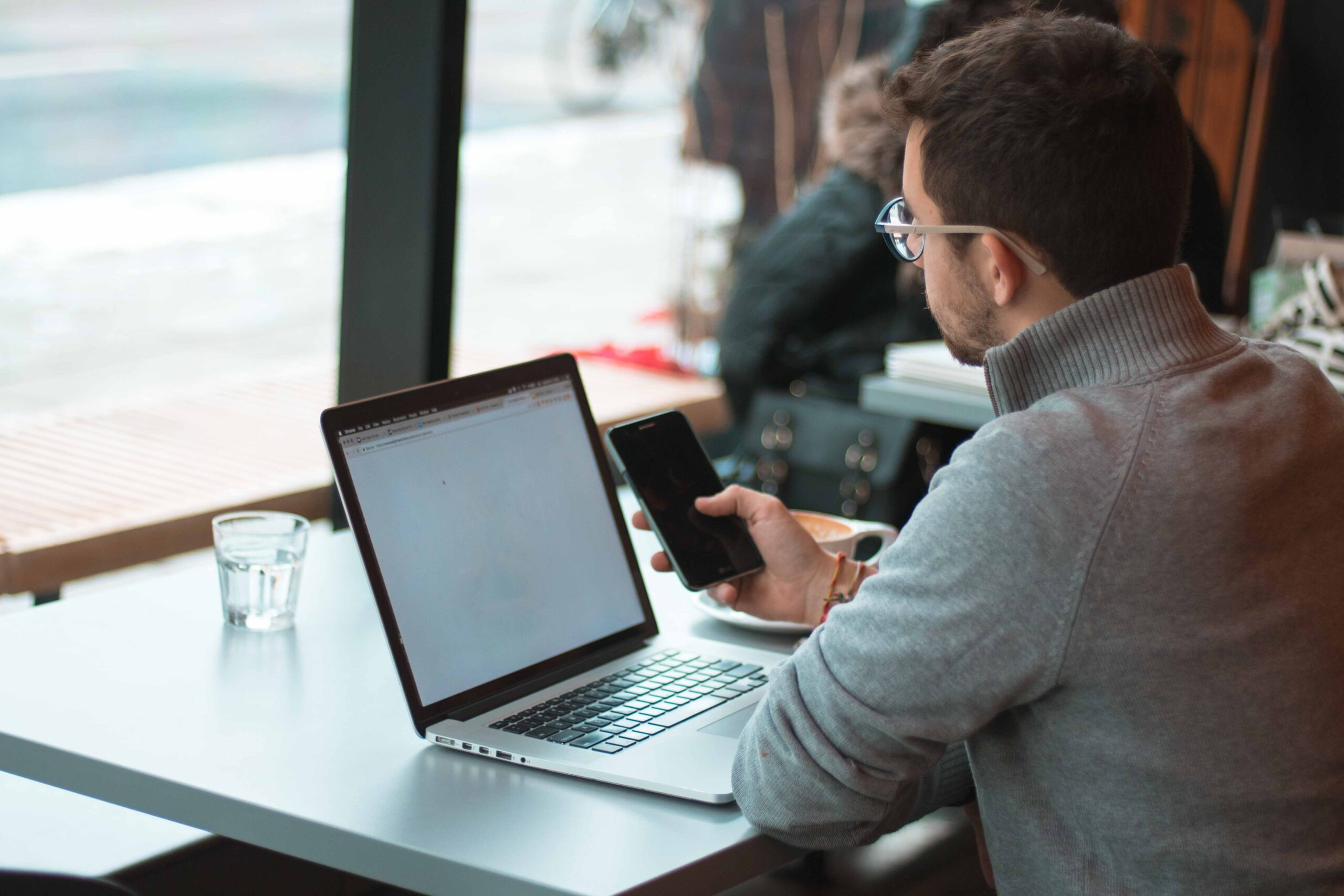 Laptops are hard to use without effecting the neck.
